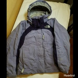 The North Face hyvent girls Small